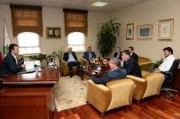 HAMZA HAMZAOĞLU - Başkan Ali Ay Açıklaması 'Fenerbahçe Maçı Dünyanın Sonu Değil'