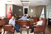 ARSLANBEY - Başkan Üzülmez, Arslanbey Sanayi Bölgesi Başkanı Ertuğ'u Ağırladı