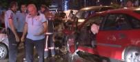 GÖRGÜ TANIĞI - Başkent'te Sıkışmalı Trafik Kazası Açıklaması 1'İ Çocuk, 7 Yaralı