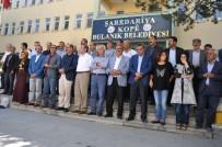 ERENTEPE - Belediye Önünde Kayyum Protestosu