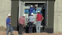 ELEKTRİK AKIMI - Cerablus'a 3 Yıl Sonra Elektrik