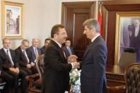 VALILER KARARNAMESI - İçişleri Bakanlığı Müsteşarlığı'nda Devir Teslim Töreni