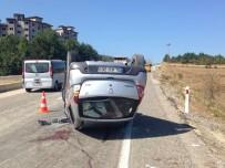 İNCEKAYA - Karabük'te Trafik Kazası Açıklaması 7 Yaralı