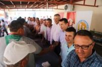 HÜSEYIN ÇAMAK - Mezitli Belediyesi Personeli, Son İş Gününde Bayramlaştı