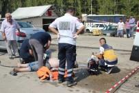 KALP MASAJI - Ölüm Onu Otomobilini Yıkarken Yakaladı