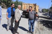 YAYALAŞTIRMA - Osman Pelen Caddesinde Çalışmalar Devam Ediyor