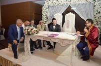 ÖZKAN SÜMER - Özkan Sümer, Ersun Yanal Ve Kaleci Onur, Nikah Şahitliği Yaptı
