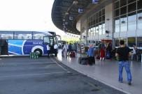 ŞEHİRLERARASI OTOBÜS - Samsun'daki Otobüs Terminalinde Sessiz Bayram