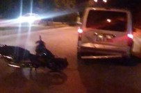 ÇUKURKÖY - Tavşanlı'da Trafik Kazası Açıklaması 1 Yaralı