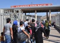GÜMRÜK MUHAFAZA - Bayramlaşmak İçin 35 Bin Kişi Suriye'ye Gitti