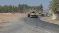 ASKERİ ARAÇ - Suriye'ye Tank Ve Askeri Personel Sevkıyatı