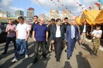 İSTANBUL VALİSİ - Vali Şahin, Torunuyla Birlikte Hayvan Pazarını Gezdi