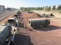 TRAFİK POLİSİ - Askeri Birliğin Taşınması Devam Ediyor