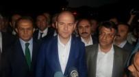 POLİS NOKTASI - Bakan Süleyman Soylu patlama bölgesinde!