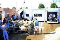 ATATÜRK EVİ - Büyükşehir Belediyesi'nin Mobil Kesim Ünitelerine Yoğun İlgi
