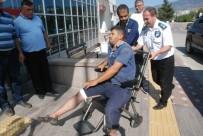 TEKERLEKLİ SANDALYE - Tokat'ta Acemi Kasaplar Hastanelik Oldu