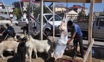 İDRIS KAYA - Vatandaşlar Bayramın İlk Gününde Kurban Pazarına Koştu