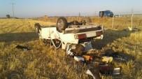 SOLMAZ - Adıyaman'da Otomobil Takla Attı Açıklaması 4 Yaralı