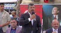 ŞÜKRÜ KARABACAK - Bakan Işık, Darıca'da Halkla Bayramlaştı
