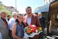 DEMOKRATİKLEŞME - Bakan Tüfenkci, Cem Vakfı'nı Ziyaret Etti