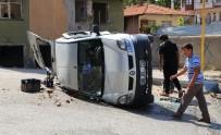 Başkent'te Trafik Kazası Açıklaması 1 Yaralı