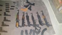 ORMANLı - İşte Çukurca'da Ele Geçirilen Silah Ve Kaçak Malzemeler