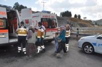 Seydişehir'de İki Otomobil Çarpıştı Açıklaması 9 Yaralı