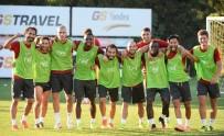 FLORYA - Galatasaray'da Neşeli Antrenman