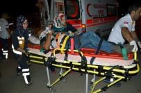 GÜLER YıLMAZ - Kargı'da Trafik Kazası Açıklaması 5 Yaralı