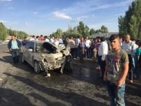 MUSTAFA PALA - Patnos'ta Trafik Kazası Açıklaması 8 Yaralı