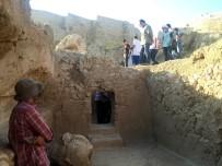 MEZOPOTAMYA - Urartu Krallarına Ait Kaya Mezarı Gün Yüzüne Çıkarıldı