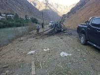 BOMBALI TUZAK - Hakkari'de bomba yüklü araç imha edildi