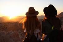 KAPADOKYA - Kapadokya'da Gün Batımı Keyfi