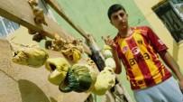SİVRİ BİBER - Köylerde Kışlık Yiyecek Mesaisi Başladı