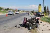 RAMAZAN YIĞIT - Manisa'da Kaza Açıklaması 1 Ölü, 4 Yaralı