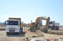 İŞ MAKİNESİ - Osmangazi'de Kurban Kesim Yerleri Temizlendi