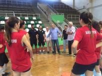 TÜRKIYE VOLEYBOL FEDERASYONU - Voleybol Federasyonu'ndan Salihli'ye Sürpriz Ziyaret