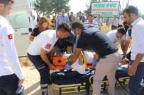 HACI BAYRAM - Adıyaman'da İki Trafik Kazası Açıklaması 1 Ölü, 5 Yaralı