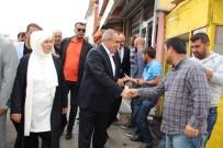 ASKERLİK ŞUBESİ - AK Partili Şimşek Halkla Bayramlaştı