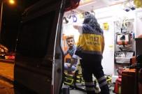 ALKOLLÜ SÜRÜCÜ - Alkollü Sürücü Park Halindeki Otomobile Çarptı