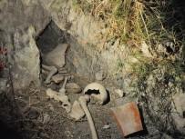BOĞAZKÖY - Baraj Kenarında İnsan Kemikleri Bulundu