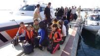 KAÇAK GÖÇMEN - Çanakkale'de 58 Kaçak Yakalandı