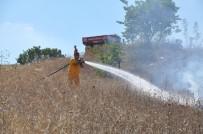 BOĞAZKÖY - İnegöl'de Korkutan Yangın