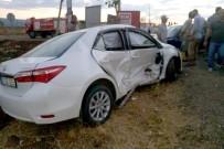 MEHMET KARATAŞ - Araban Eski Belediye Başkanı Kaza Yaptı Açıklaması 3 Yaralı
