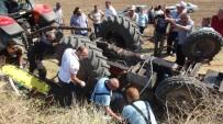 KıRıM - Devrilen Traktörün Altından 4 Saat Sonra Kurtarıldı