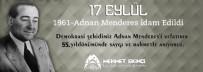 SIYAH BEYAZ - Eyyübiye Belediyesi Adnan Menderesi Unutmadı