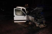 Konya'da 1 Saat İçinde 7 Araç Yandı