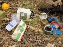KOMANDO - Şemdinli'de EYP Ve Yaşam Malzemeleri Ele Geçirildi