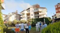 YÜKSEK GERİLİM HATTI - Apart Otelde Çıkan Yangın Korkuttu