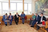 ŞANLIURFA MİLLETVEKİLİ - ASP Müdürü Murat Önen, Şehit Ailelerini Ziyaret Etti